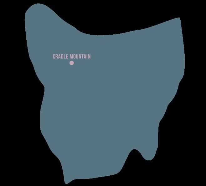 CradleMountain-TasmaniaMap